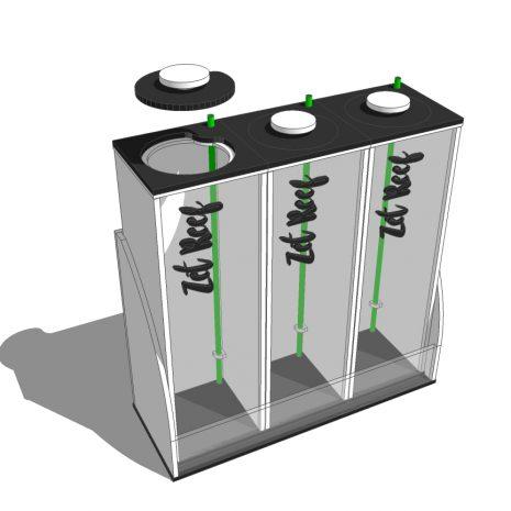 Recipiente Dosificadora Pro X3 (3)